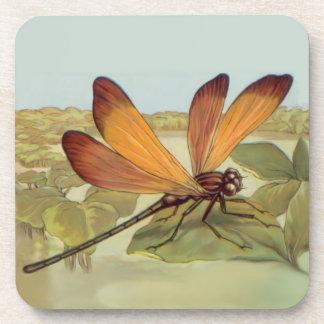 Golden Dragonfly Coaster