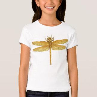 Golden Dragonfly Girls Babydoll Tee