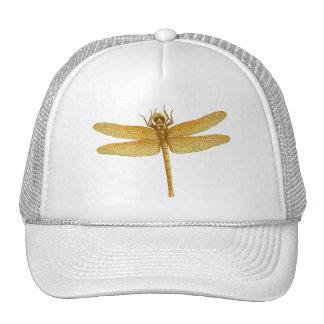 Golden Dragonfly Hat