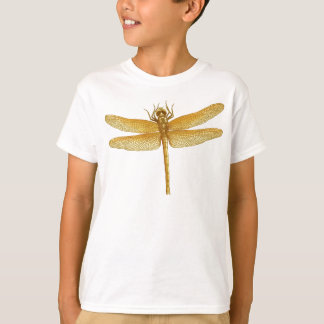 Golden Dragonfly Kids T-Shirt