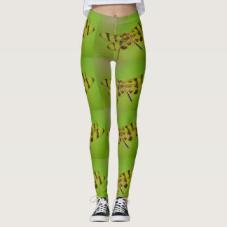 Golden Dragonfly Leggings