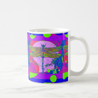 Golden Dragonfly modern design by Sharles Coffee Mug