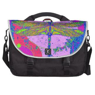Golden Dragonfly modern design by Sharles Bag For Laptop