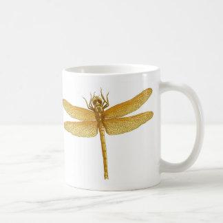 Golden Dragonfly Mug