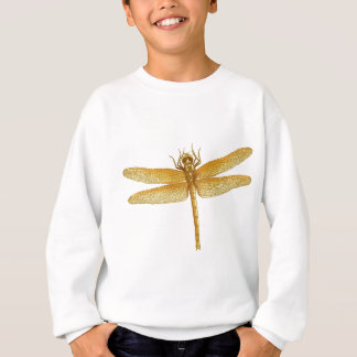Golden Dragonfly Sweatshirt