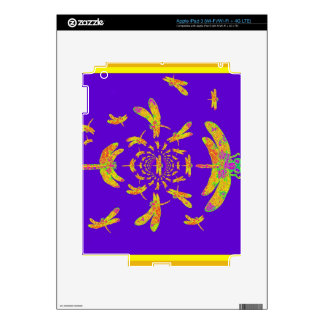 Golden Dragonfly's Purple Gifts iPad 3 Decal