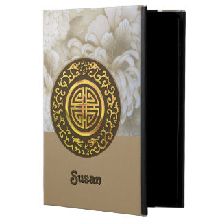 Golden Dragons and Chrysanthemums iPad Air Cases