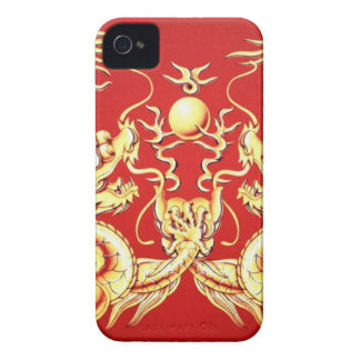 GOLDEN DRAGONS iPhone 4 CASES