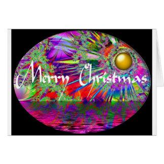 Golden Dream Christmas Card