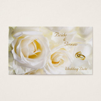 Golden Dream Wedding Favor Tag