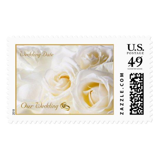 Golden Dream Wedding Stamp
