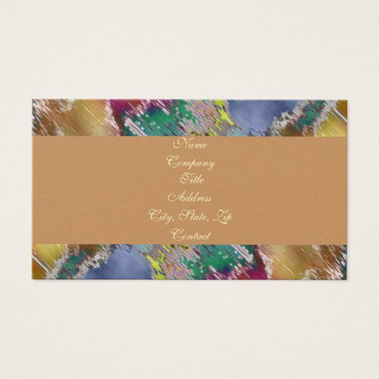 Golden Dreams Business Card