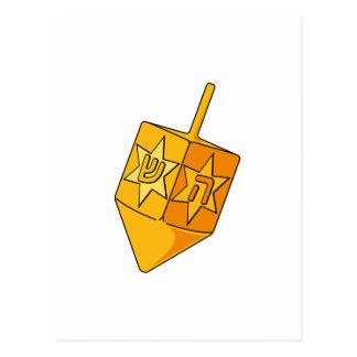 Golden Dreidel Postcard