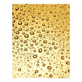 Golden drops letterhead