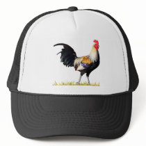 Golden Duckwing American Rooster Trucker Hat