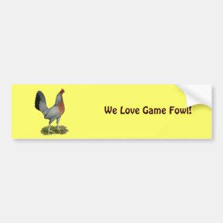 Golden Duckwing Hen Bumper Sticker