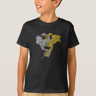 Golden Eagle and Silver Dragon T-Shirt