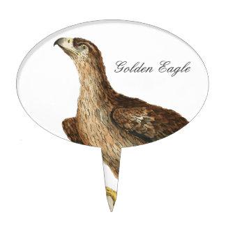Golden Eagle - Aquila chrysaetos Cake Topper