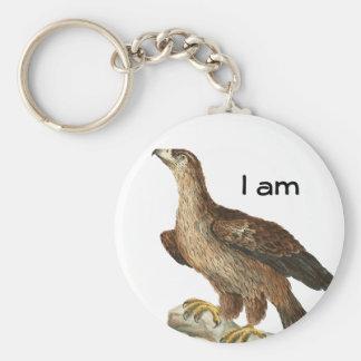 Golden Eagle - Aquila chrysaetos Key Chains