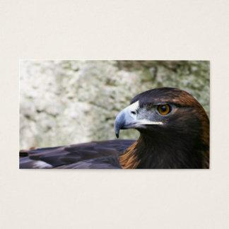 Golden eagle business card
