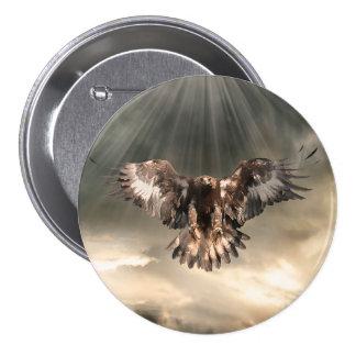 Golden Eagle Button