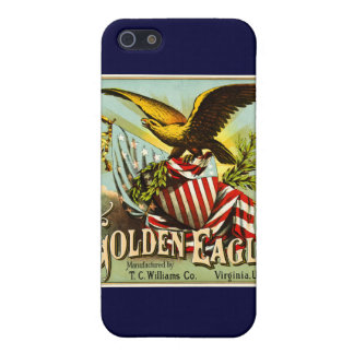 Golden Eagle Chewing Tobacco Label Vintage iPhone SE/5/5s Cover