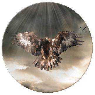 Golden Eagle Dinner Plate