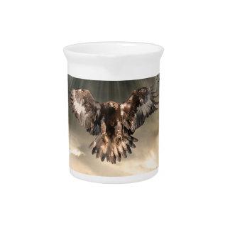 Golden Eagle Drink Pitcher