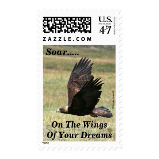 Golden Eagle in Flight Postage