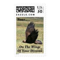 Golden Eagle in Flight Postage