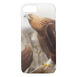 Golden Eagle John Gould Birds of Great Britain iPhone 7 Case