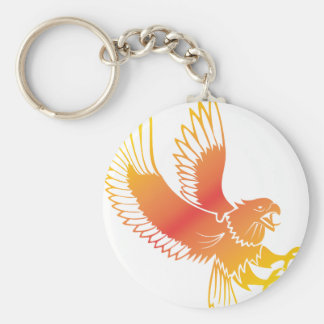 Golden Eagle Key Chain