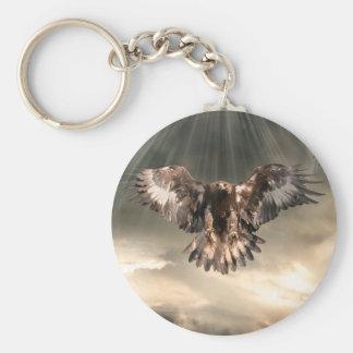 Golden Eagle Key Chain
