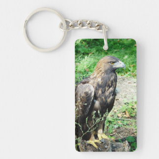 Golden Eagle Keychain