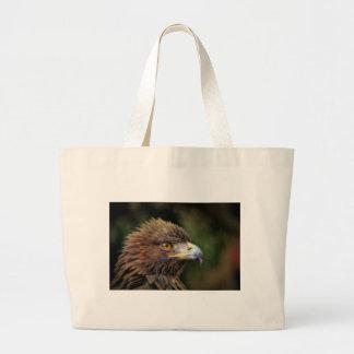 golden eagle large tote bag
