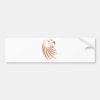 Golden Eagle Logo Bumper Sticker