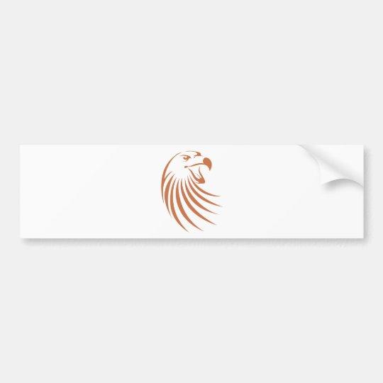 Golden Eagle Logo Bumper Sticker