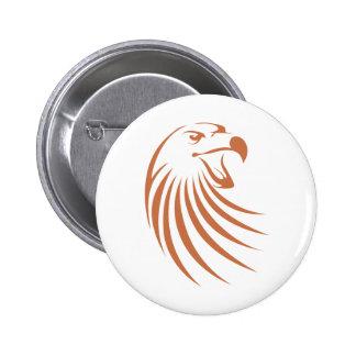 Golden Eagle Logo Pinback Button