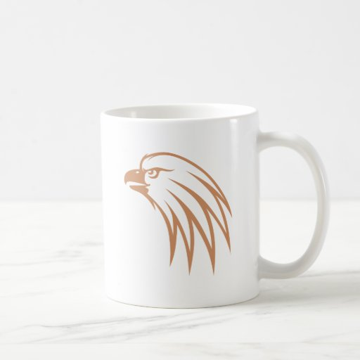 Golden Eagle Looking Out Coffee Mugs
