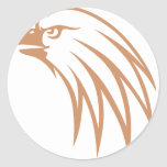 Golden Eagle Looking Out Stickers
