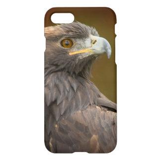 Golden Eagle looking over shoulder iPhone 7 Case