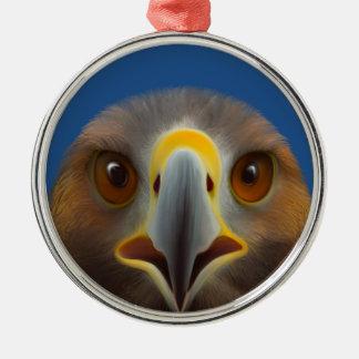 Golden Eagle Metal Ornament