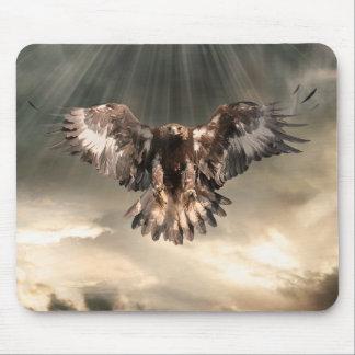 Golden Eagle Mouse Pad