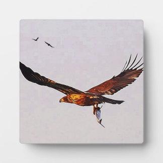 Golden Eagle Plaque