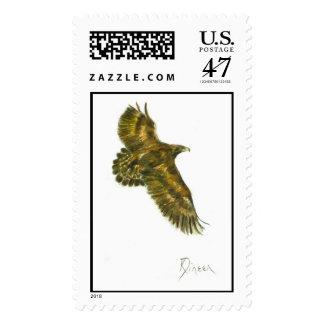 Golden Eagle Postage stamp