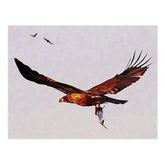 Golden Eagle Postcard