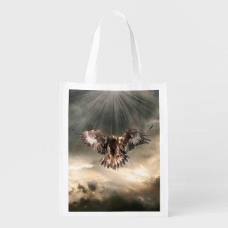 Golden Eagle Reusable Grocery Bag