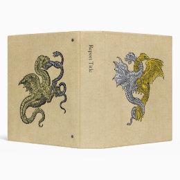 Golden Eagle Silver Dragon Binder