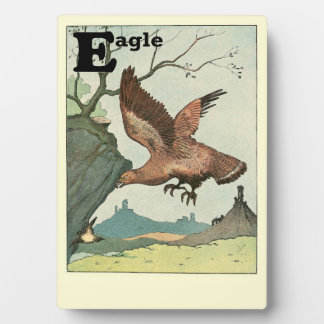 Golden Eagle Story Book Alphabet Plaque