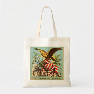 Golden Eagle Tobacco 1900 Tote Bags